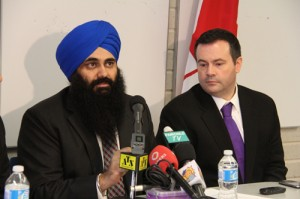 Tim Uppal, Minister of State for Democratic Reform, outlined on Saturday a push from the Conservative government to create new seats in the more populated centres of Canada. This should give new Canadians greater representation.