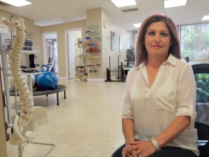 Shahla Tavakolnia is a registered physiotherapist, massage therapist and certified acupuncturist. Her health centre is near Finch subway at 15 Hendon Ave., in North York.  Physiotherapy can help relieve and heal physical ailments like arthritis, whiplash, sport injuries, back and neck pain, post fractures and post surgery, hip, foot, shoulder, hand and knee dysfunctions and spinal disorders. - Photo By Salam Toronto