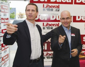 Del Duca is married and has two daughters - ages one and four. He has lived in Vaughan for 25 years.