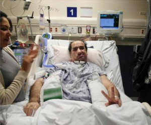 Hassan Rasouli was diagnosed as being in a permanent vegetative state with little to no hope after surgery to remove a brain tumor resulted in a bacterial infection that put him in a coma.