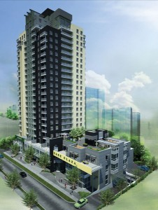 The Sage II Condos developed by IN8 Development is the second of a two buildings catering to luxury student living.