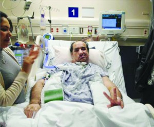 Since October 2010, Hassan Rasouli has been in a coma at Sunnybrook Hospital after surgery to remove a brain tumour ended in a meningitis infection.
