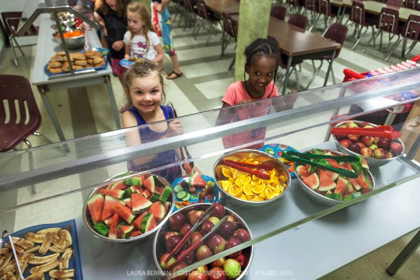 Student Nutrition Salad Bar
