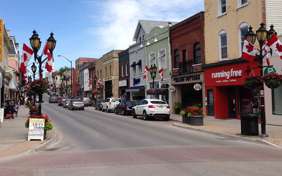 Historic Main Street Newmarket