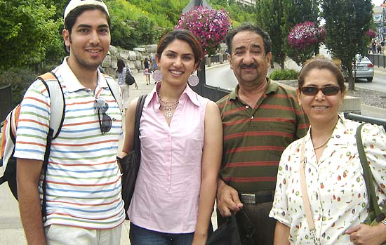 Hassan Rasouli was a mechanical engineer in Esfahan, Iran. His wife, Parichehr Salasel was a physician with her own practice in Esfahan
