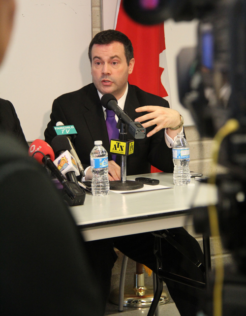Federal Minister of Citizenship Immigration and Multiculturalism, Jason Kenney, says multiculturalism can work in Canada if all Canadians strike a balance between showcasing all that is good about their cultural backgrounds, yet also successfully integrating into Canadian society.