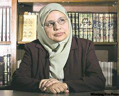 شهینا صدیقی، رئیس مرکز خدمات اجتماعی اسلامی