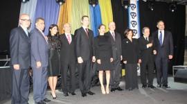 دالتون مک گینتی در کنار اعضای کامیونیتی ایرانی-کانادایی، شنبه 14 ژانویه 2012