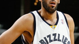 The seven-foot-two Haddadi is the first Iranian ever to play in the NBA.