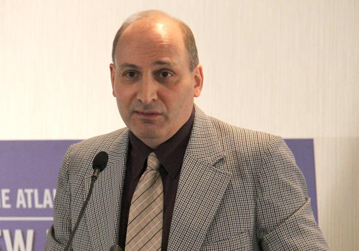 Dr. Ramin Jahanbegloo - Photo by Salam Toronto