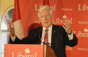 ► Bob Rae held a Town Hall meeting at the Armenian Community Centre in Toronto on Saturday March 31st to talk about the Conservative Government's Budget. - Photo by Salam Toronto (March 31, 2012)