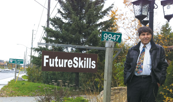 Principal and founder of Future Skills High School Hassan Mirzai is an Iranian-Canadian who started tutoring computer courses from his basement and gradually expanded the business to where he now faces the opportunity to start a full-fledged private school in Richmond Hill which will cater to international students.