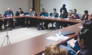 گوشهای از گردهمائی کنگره ایرانیان کانادا در تورنتو در تاریخ 18 نوامبر 2012