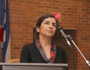خانم نیاز سلیمی، رئیس شورای جامعه ایرانیان کانادا، عضو هیات مدیره اتحاد صلح کانادا، سازمان دفاع از زندانیان سیاسی ایران، سازمان دگرباشان جنشس ایرانی و چندین سازمان دیگر