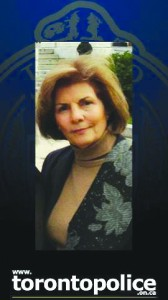 Toronto Police say Manijeh Bostani-Khamsi, 78, whose body was found in her apartment last Saturday, was killed.