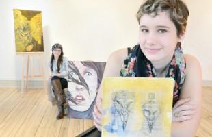 برگزارکنندگان امسال نمایشگاه هنری سالیانه جوانان آرورا (Aurora)