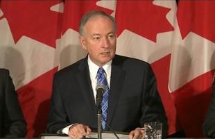 راب نیکلسون، وزیر دادگستری کانادا
