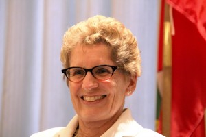 """Ontario Premier Kathleen Wynne : """"Transit is extremely important to the economy, and we must build more transit in the GTA,"""""""