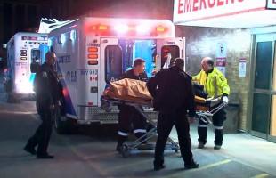 انتقال مجروحین به بیمارستان