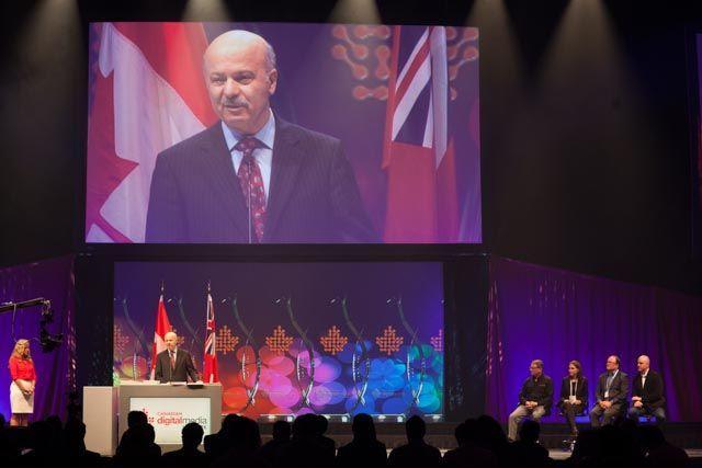 نماینده ریچموندهیل طی سخنانی از نقش نوآوری و خلاقیت در نشر دیجیتالی  در کارآفرینی و تولید ثروت در کانادا تقدیر کرد.