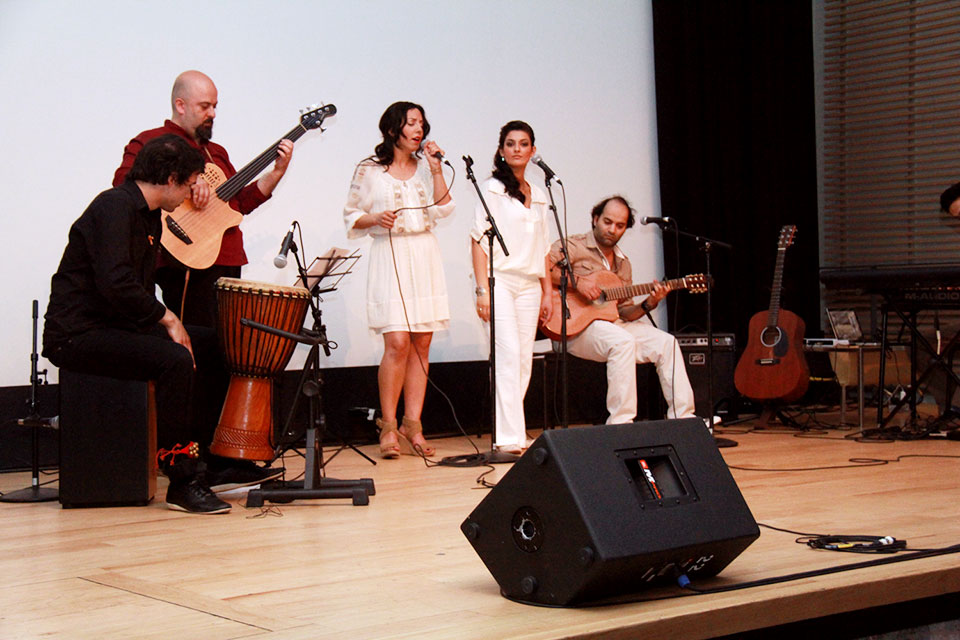 Persian Pop Music Performed at Iranian Heritage Day 2012