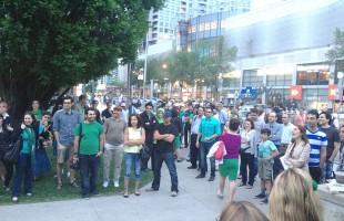 صحنه هایی از اجتماع ایرانیان تورنتو در میدان مل لستمن