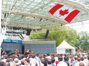Tirgan2011- One of the events with huge audiences -  Photo by Salam Toronto