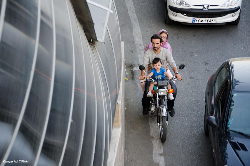 روز تفریح خانوادگی در خیابان شهرداری / تجریش