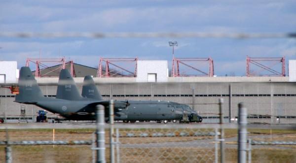 پایگاه نظامی ارتش کانادا در شهر ترنتون در انتاریو