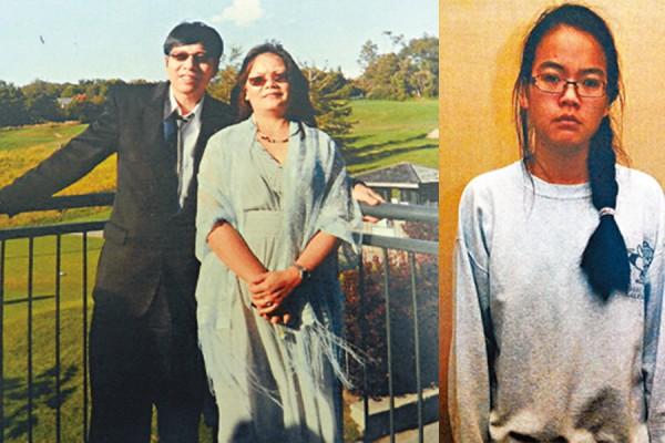 جنیفر پن (عکس سمت راست) / بیدها پن و هان پن - مادر و پدر جنیفر