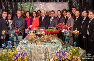 مهمانی نوروزی اساتید ایرانی تبار دانشگاهها و کالج های انتاریو