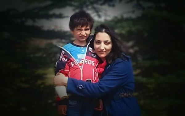 مریم رشیدی و پسر 6 ساله اش کوروش