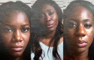 از چپ: ایمی واکر (30 ساله)، مونیک بوکی یادوم (35 ساله)، و الیشا ویلیامز  (26 ساله)    Photos: Port Authority Police Department