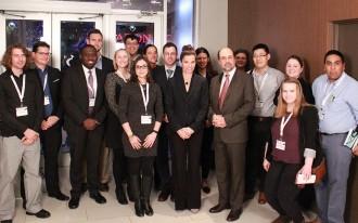 جمعی از شرکت کنندگان کنفرانس