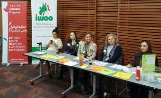 عکسها از کنگره ایرانیان  و سازمان زنان