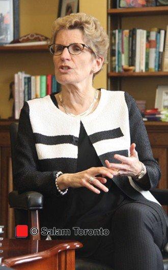 سه شنبه 15 مارچ 2016 ـ دفتر نخست وزیر انتاریو ـ خانـم کاتلیـن وین در مصاحبه ای اختصاصی با سلام تورنتو به مناسبت نوروز. ـ عکس از سلام تورنتو