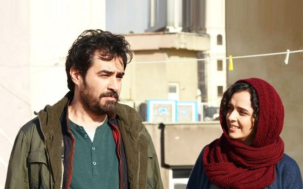 ترانه علیدوستی و شهاب حسینی در صحنه ای از  فیلم «فروشنده» اصغر فرهادی