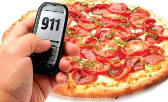 زني در نيوفاندلند به خاطر کم بودن پنير پيتزا، به 911 زنگ زد!