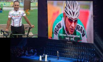 حاضران در مراسم اختتامیه مسابقات پارالمپیک 2016 ریو به احترام بهمن گلبارنژاد یک دقیقه سکوت کردند.
