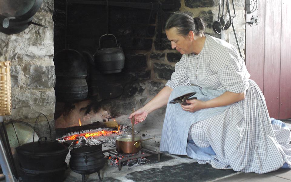 دهکده پیشتازان موزه ای از زندگی و فعالیتهای اقتصادی اولین اروپاییانی است که به کانادا وارد شدند.