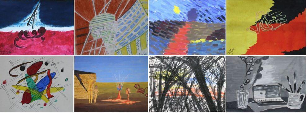 تعدادی از نقاشیهای پروفسور مجتبی ناصری