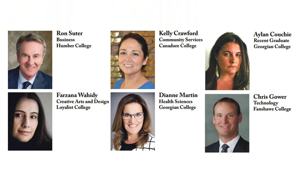 Premier›s Awards for College Graduates  به 6 نفر از فارغ التحصیلان در 6 مقوله که اثری ماندگار در جامعه بجای گذاشته باشند، اعطا می شود.