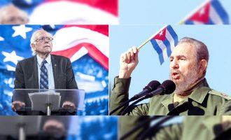 برنی سندرز: موضوع اینجاست که عده ای به این نتیجه رسیده اند که فیدل کاسترو  تنها (دیکتاتور جهان) است ـ و کوبا تنها کشور غیردمکراتیک در جهان است. می بینید!  به نظر آنها عربستان سعودی خوب است.