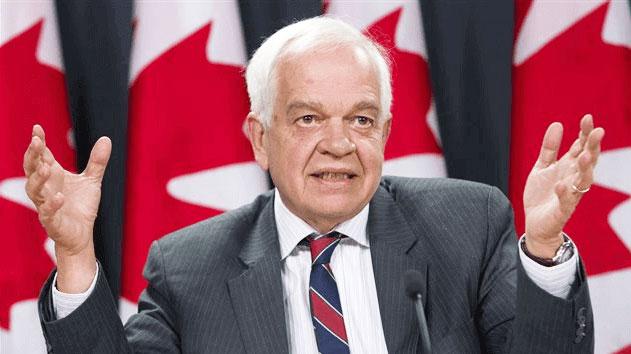 جان مک کالوم وزیر مهاجرت و شهروندی: این خطاست که دولت کانادا همسران را برای مدت 2 سال جدای از هم نگه دارد.