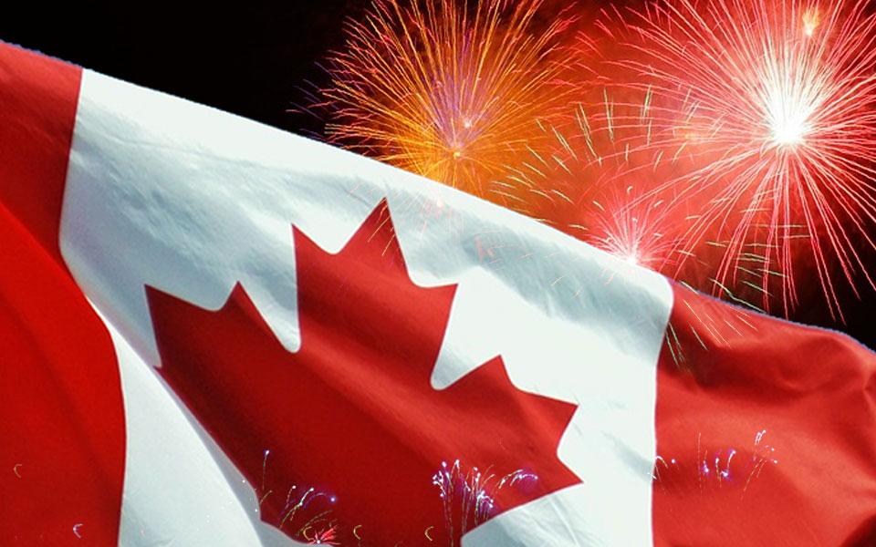 جشن های یکصد و پنجاهمین سالگرد تولد کانادا