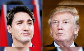 آمریکا بزرگترین شریک تجاری کانادا است.