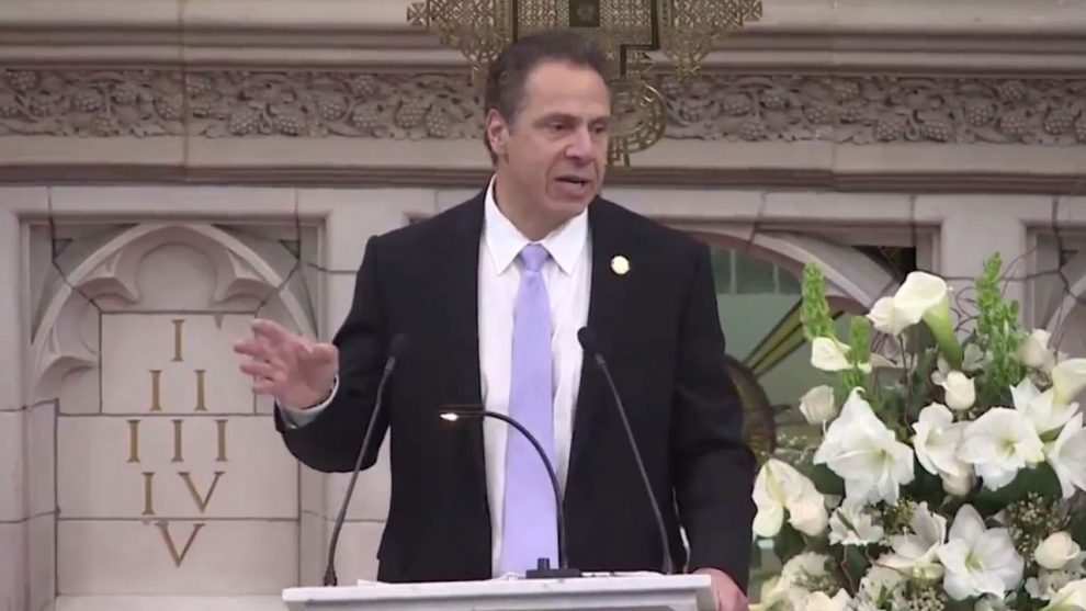 فرماندار نیویورک اندرو کومو