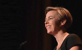 کلی لیچ کاندیدای رهبری حزب محافظه کار کانادا