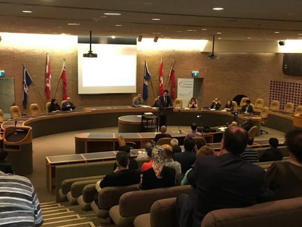 یکشنبه 28 می 2017 ـ جلسه مجموع عمومی کنگره ایرانیان کانادا