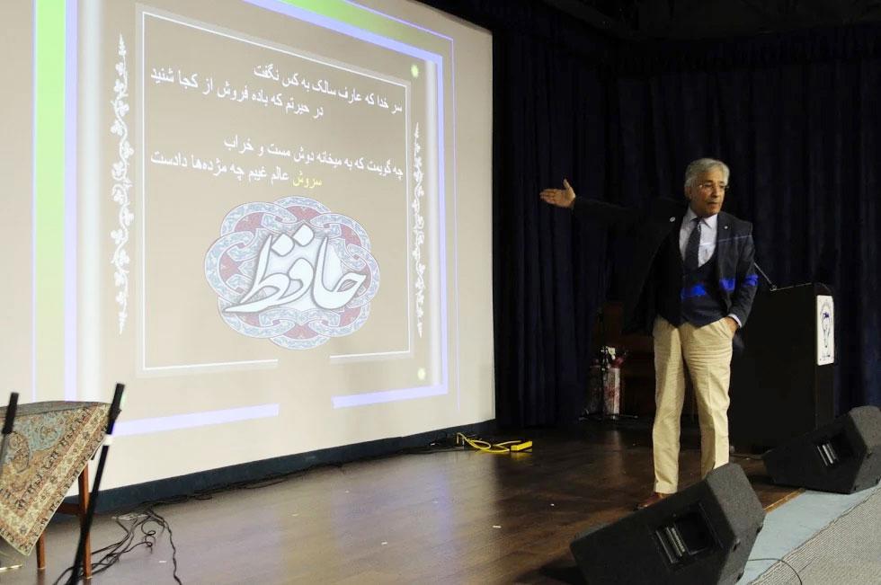 پروفسور کنعانی درباره برخی از اشعار حافظ توضیح می دهد ـ یکشنبه 14 می 2017، بنیاد پریا